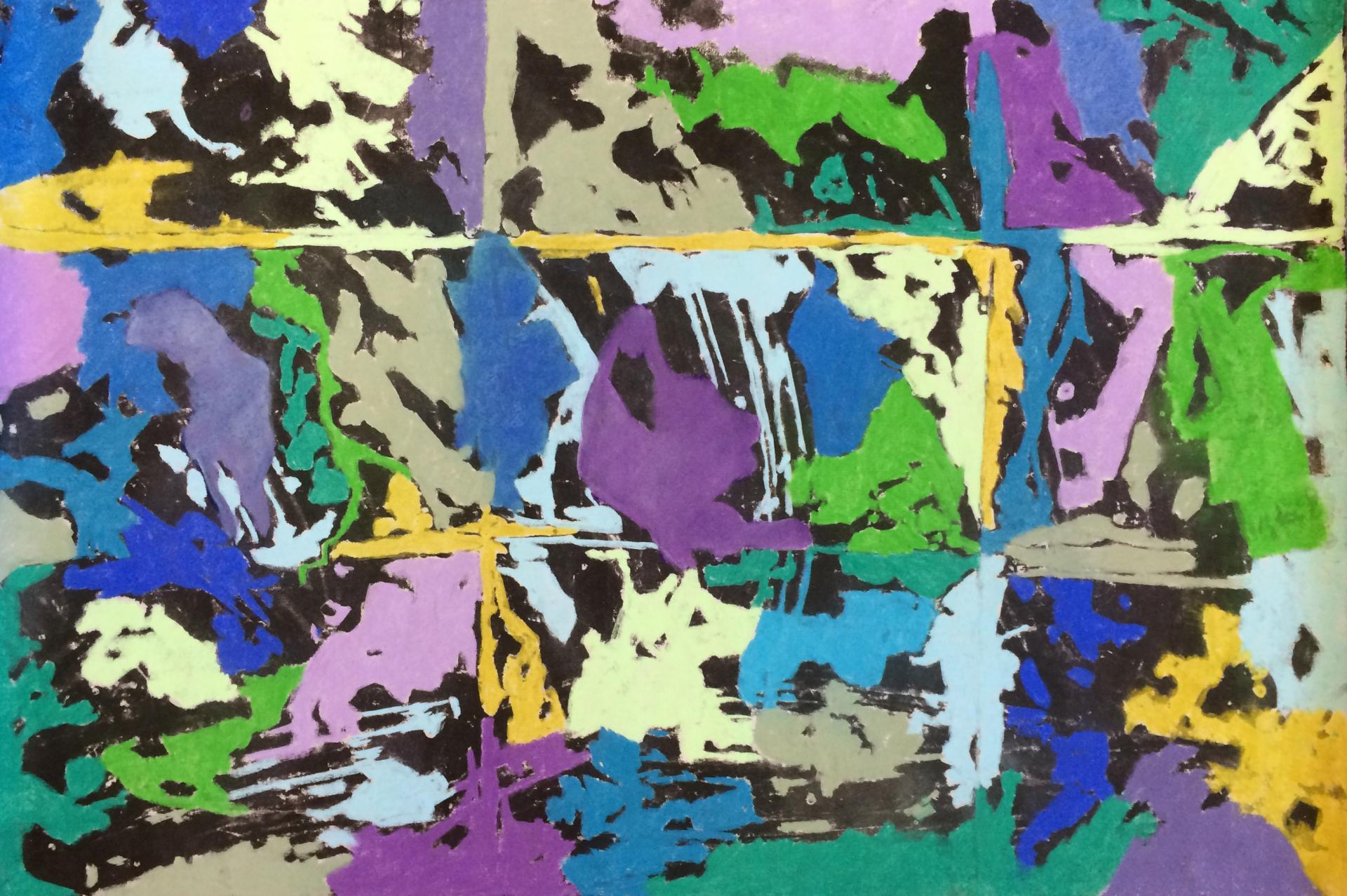 201601 70 x110 encre et pastels secs
