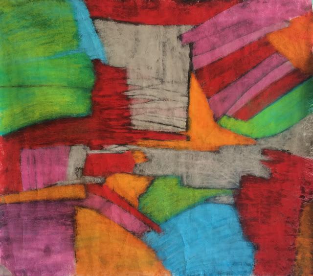 20160308 mars 100x110cm encre pastels secs
