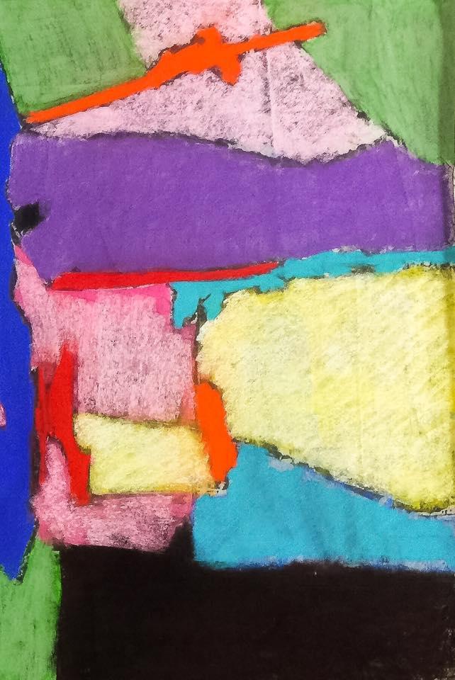 20160531 encre et pastels secs 2 100x50