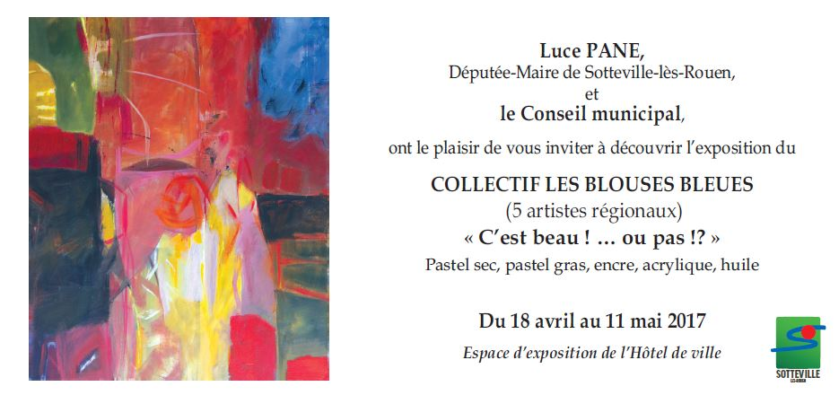 Invitation exposition sotteville 21 03 2017 18h00